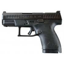 "CZ P-10 Sub-Compact, 9mm, 3.5"" Barrel, 12rd, Night Sights, Black"