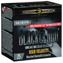 "Federal Premium Black Cloud 12 Ga, 3"", 1.1oz, 1 shot, 25rd/Box"