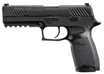 "Sig P320 Full Size, 9mm, 4.7"" Barrel, 10rd, Contrast Sights, Black"