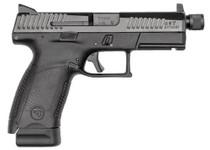 """CZ P-10 C, 9mm, 4.61"""" Barrel, 17rd, Suppressor Ready, Night Sights, Black"""