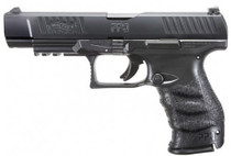 "Walther PPQ M2 Double, 9mm, 5"" Barrel, 15rd, Adjustable Sights, Black"