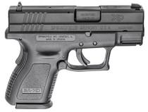 """Springfield Defender Sub-Compact, 9mm, 3"""" Barrel, 10rd, Black"""