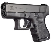 "Glock G26 Subcompact Double 9mm 3.4"" Barrel, Black, 10rd"