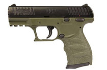 Walther Ccp 9mm Forest Green 3.54 8+1