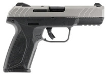 "Ruger Security-9 9mm, 4"" Barrel, Silver/Black, 15rd"