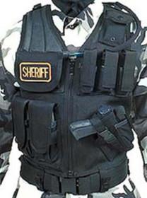 BlackHawk Omega Elite Cross Draw/Pistol Mag Vest, Black