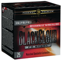 "Federal BlackCloud 12 Ga, 3.5"", 1-1/2oz, 1 Shot, 25rd/Box"