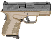 "Springfield XD-S Mod.2, 9mm, 3.3"" Barrel, 7rd, Flat Dark Earth, Tritium Nite Sites"