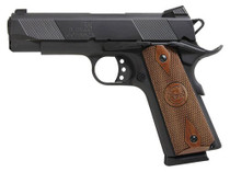 "Iver Johnson 1911 Hawk, 45 ACP, 5"", 8rd, Walnut Grips, Black"