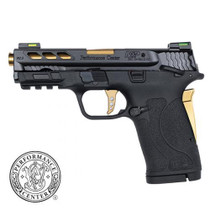 "Smith & Wesson M&P 380 Shield EZ M2.0 Performance Center  380 ACP 3.8"" Gold Ported Barrel"