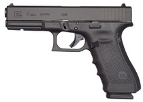 "Glock G17 Gen4, 9mm, 4.48"" Barrel, 10rd, Black"
