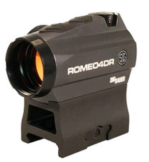 Sig Romeo4DR 1x 20mm, 65 MOA Circle Dot/2 MOA Dot, Black, CR2032 (1)