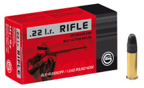 Geco 22LR Rifle 40 Lrn Bolt, 50rd/Box