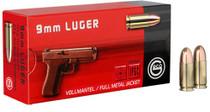 Geco 9mm 124gr FMJ Hungary, 50rd Box