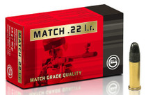 GECO Match  22 LR 40gr, Leadrd Nose (LRN) 50 Bx/ 100 Cs