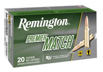 Remington Ammo Premier Match 6mm Creedmoor 112gr, MB, 20rd/Box