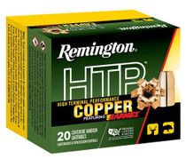 Remington Ammo HTP Copper 10mm 155gr, Barnes XPB, 20rd Box