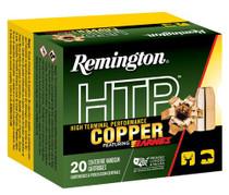 Remington Ammo HTP Copper 10mm 155gr, Barnes XPB, 20rd Box