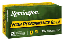 Remington Ammo High Performance 6.5 Creedmoor 140gr, Boat Tail Hollow Point, 20rd Box
