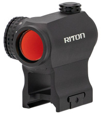 RITON OPTICS RT-R Mod 3 RMD, 1x23mm, 68 ft @ 100 yds, 2 MOA Red Dot, Matte Black