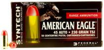 Federal American Eagle Syntech 45 ACP 230gr, 50rd/Box