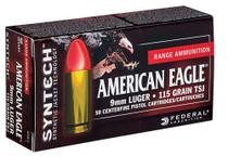 Federal American Eagle Syntech 40 SW 165gr, 50rd Box