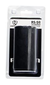 RITON OPTICS RS-50 Sunshade, 50mm, Lens Shade, 6061-T6 Aluminum, Black