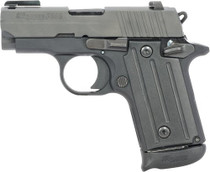 "SIG P238 Academy Exclusive, .380 ACP, 2.7"", 6rd, SIGLITE Night Sights, Nitron"