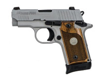 "SIG P238, .380 ACP, 2.7"", 6rd/7rd, SIGLITE NS, Stainless/Alloy"