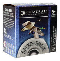 "Federal Speed-Shok 12 Ga, 2.75"", 1-1/8oz, 2 Shot, 25rd/Box"