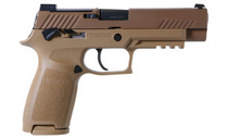 "SIG P320 M-17, 9mm, 4.7"", 17rd, SIGLITE NS, Coyote Tan"