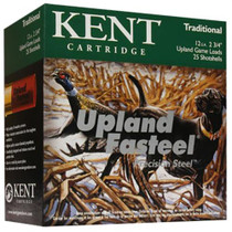 "Kent Fasteel Upland 12 Ga, 2.75"", 1 oz, 6 Shot, 250rd/Case"