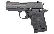 "SIG P938 Micro-Compact, 9mm, 3"", Ambidextrous Safety, Nitron Slide, Black Frame"