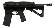 "FoldAR15 Rifle Semi-Automatic 223 Wylde 16"" Barrel, Synthetic Black Stock Black Hardcoat Anodized, 30rd"