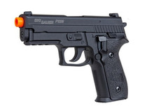 "Sig Airsoft Proforce P229, 6mm, 4.75"", 25rd, Green GAS Power Source, Black"