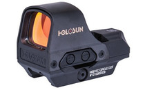 Holosun HS Classic, 1x, 2 MOA Dot/65 MOA Ring, Ring/Dot Reticle, Black