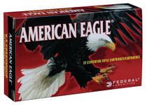 Federal American Eagle 6.5 Creedmoor 120gr, Open Tip Match, 100rd/Box
