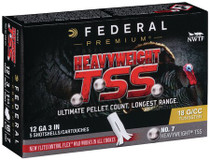 "Federal Heavyweight TSS 12 Ga 3"", 1-3/4oz, 7 Shot, 5rd/Box"