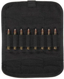 Bulldog Cases Rifle Cartridge Ammo Pouch Holds 8 Black