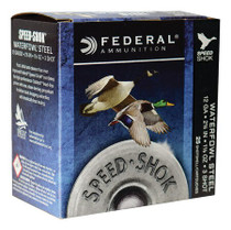 "Federal Speed-Shok 12 Ga, 2.75"", 1-1/8oz, 3 Shot, 25rd/Box"
