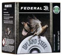 "Federal Upland Steel 20 Ga,2.75"", 7/8oz, 7.5 Shot, Steel, 25rd/Box"