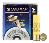 "Federal Speed-Shok 20 Ga, 3"", 7/8oz, Steel, 1550 FPS, 2 Shot, 25rd/Box"