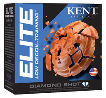"Kent Elite Low Recoil Training 12 Ga, 2.75"", 7/8oz, 25rd/Box"