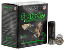 "Kent Fasteel Waterfowl 12 Ga, 2.75"", 1-1/4oz, 4 Shot, 25rd/Box"