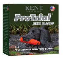 """Kent Trial Field Blank 12 Ga, 2.5"""", 25rd/Box - Not Ammo, These Are Blanks"""