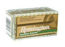Remington 22 Mag 40gr, JHP, 50rd/Box