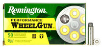 Remington Performance WheelGun 38 Special 158gr, SWC, 50rd/Box