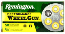 Remington Performance WheelGun 45 LC 225gr, SWC, 50rd/Box