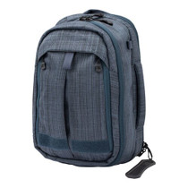 "Vertx Transit Sling 2.0 Backpack Nylon 16"" H x 10"" W x 7.5"" D Heather Navy"
