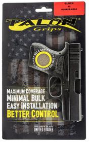 Talon Glock 42 Rubber Adhesive Grip Textured Moss